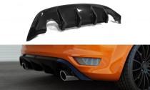 Maxton Design Spoiler zadního nárazníku Ford Focus ST Mk2 Facelift - texturovaný plast