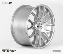 OEMS Wheels 111 19x8,5 ET42 5x112 Stylová alu kola - Stříbrné