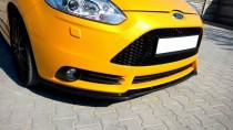 Maxton Design Spoiler předního nárazníku Ford Focus ST Mk3 V.1 - texturovaný plast