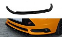 Maxton Design Spoiler předního nárazníku Ford Focus ST Mk3 V.2 - texturovaný plast