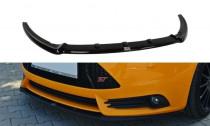 Maxton Design Spoiler předního nárazníku Ford Focus ST Mk3 V.3 - texturovaný plast