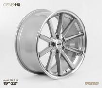 OEMS Wheels 110 19x8,5 ET42 5x112 Stylová alu kola - Stříbrné