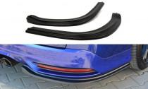 Maxton Design Boční lišty zadního nárazníku Ford Focus ST Mk3 Combi - texturovaný plast
