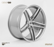 OEMS Wheels 120 19x8,5 ET42 5x112 Stylová alu kola