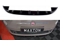 Maxton Design Spoiler předního nárazníku Fiat 500 V.1 - texturovaný plast