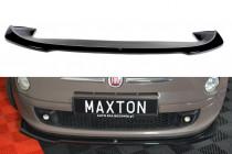 Maxton Design Spoiler předního nárazníku Fiat 500 V.2 - texturovaný plast