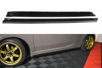 Maxton Design Prahové lišty Fiat 500 - texturovaný plast