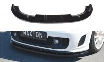 Maxton Design Spoiler předního nárazníku Fiat 500 Abarth V.2 - texturovaný plast