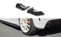 Maxton Design Boční lišty zadního nárazníku Fiat 500 Abarth - texturovaný plast