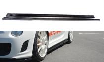 Maxton Design Prahové lišty Fiat 500 Abarth - texturovaný plast