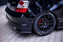 Maxton Design Boční lišty zadního nárazníku Honda Civic EP3 (Mk7) Type-R - texturovaný plast