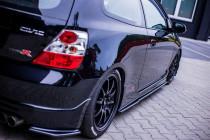 Maxton Design Prahové lišty Honda Civic EP3 (Mk7) Type-R - texturovaný plast