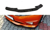 Maxton Design Spoiler předního nárazníku Honda Civic FN2 (Mk8) Type-R/S - texturovaný plast