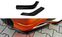 Maxton Design Boční lišty zadního nárazníku Honda Civic FN2 (Mk8) Type-R/S - texturovaný plast