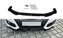 Maxton Design Spoiler předního nárazníku Honda Civic FK2 (Mk9) Facelift - texturovaný plast