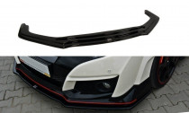 Maxton Design Spoiler předního nárazníku Honda Civic FK2 (Mk9) Type R V.1 - texturovaný plast