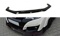 Maxton Design Spoiler předního nárazníku Honda Civic FK2 (Mk9) Type R V.2 - texturovaný plast