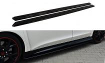 Maxton Design Prahové lišty Honda Civic FK2 (Mk9) Type R - texturovaný plast