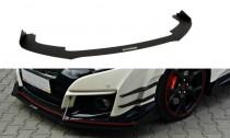 Maxton Design Spoiler předního nárazníku Racing Honda Civic FK2 (Mk9) Type R V.2
