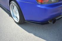 Maxton Design Boční lišty zadního nárazníku Honda S2000 - texturovaný plast