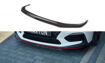 Maxton Design Spoiler předního nárazníku Hyundai I30N V.2 - texturovaný plast