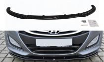 Maxton Design Spoiler předního nárazníku Hyundai I30 Mk2 - texturovaný plast