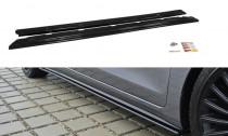Maxton Design Prahové lišty Hyundai I30 Mk2 - texturovaný plast