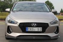 Maxton Design Spoiler předního nárazníku Hyundai I30 Mk3 - texturovaný plast
