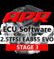 APR Stage 3 úprava řídící jednotky chiptuning pro TheTurboEngineers TTE700 & SRM GTX3582r hybridní turbodmychadlo AUDI RS3 8V TTRS 8S 2,5 TFSI EVO