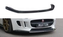 Maxton Design Spoiler předního nárazníku Jaguar F-Type - texturovaný plast