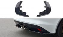 Maxton Design Boční lišty zadního nárazníku Jaguar F-Type - texturovaný plast