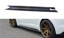 Maxton Design Prahové lišty Jaguar F-Type - texturovaný plast