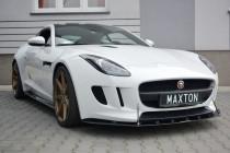 Maxton Design Spoiler předního nárazníku Racing Jaguar F-Type