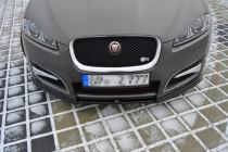 Maxton Design Spoiler předního nárazníku Jaguar XF Facelift S-Pack - texturovaný plast