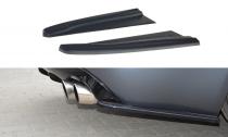 Maxton Design Boční lišty zadního nárazníku Jaguar XF-R - texturovaný plast