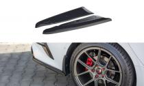Maxton Design Boční lišty zadního nárazníku ProCeed GT Mk3 - texturovaný plast