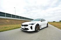 Maxton Design Spoiler předního nárazníku Kia Stinger GT V.2 - texturovaný plast