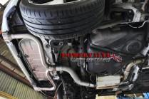 BCS Automotive Turbo Back Powervalve výfuk VW Golf 7 GTI & Performance 2,0 TSI - Sport De-Cat