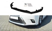 Maxton Design Spoiler předního nárazníku Lexus CT Facelift - texturovaný plast