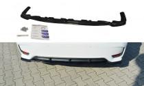 Maxton Design Spoiler zadního nárazníku Lexus CT Facelift - texturovaný plast