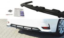 Maxton Design Spoiler zadního nárazníku s příčkami Lexus CT Facelift - texturovaný plast