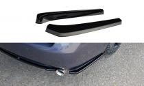 Maxton Design Boční lišty zadního nárazníku Lexus GS Mk3 - texturovaný plast