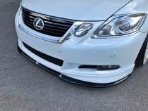 Maxton Design Spoiler předního nárazníku Lexus GS Mk3 Facelift V.2 - texturovaný plast