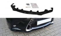 Maxton Design Spoiler předního nárazníku Lexus GS Mk4 Facelift - texturovaný plast