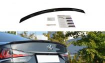 Maxton Design Lišta víka kufru Lexus GS Mk4 Facelift - texturovaný plast