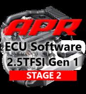 APR Stage 2 úprava řídící jednotky motoru chiptuning AUDI RS3 8V 2,5 TFSI