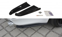 Maxton Design Boční lišty zadního nárazníku Lexus IS Mk2 - texturovaný plast