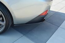 Maxton Design Boční lišty zadního nárazníku Lexus IS Mk3 - texturovaný plast