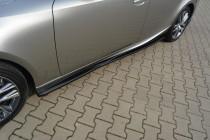 Maxton Design Prahové lišty Lexus IS Mk3/Mk3 Facelift - texturovaný plast