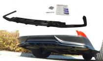 Maxton Design Spoiler zadního nárazníku s příčkami Lexus IS Mk3 Hybrid - texturovaný plast